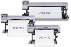 Mimaki JV33 models