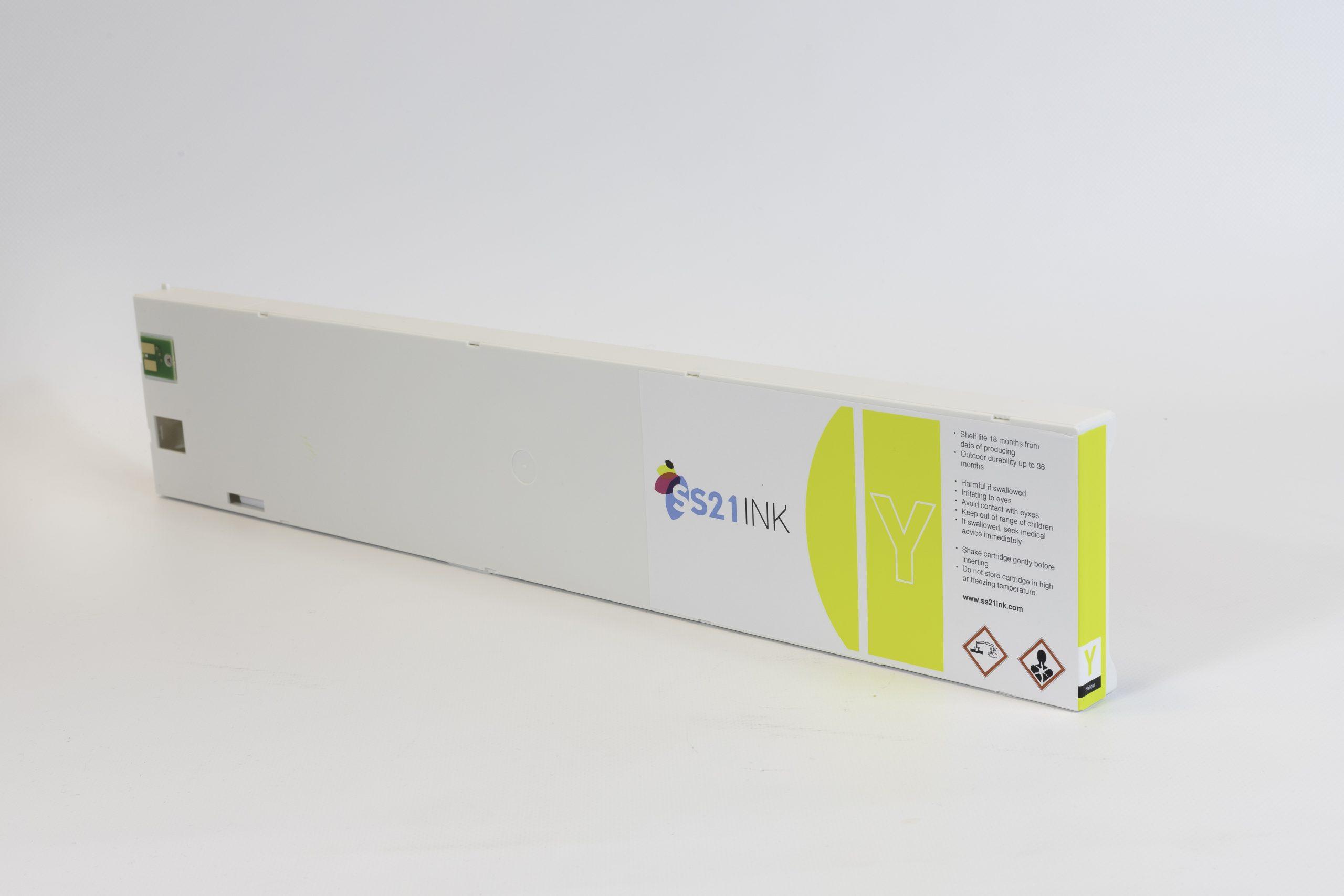 Cartouche d'encre générique jaune équivalent à Mimaki SPC-0501Y